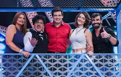 Rita, Santos, Celso, Laura e Jorge - Crédito:Bruno Correa/SBT
