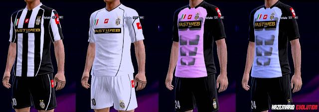 new arrival e812d 15451 PES 2013 Juventus Classic Kits 2002-2003