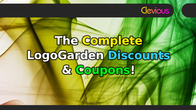 The Complete LogoGarden Discounts & Coupons! - Clevious