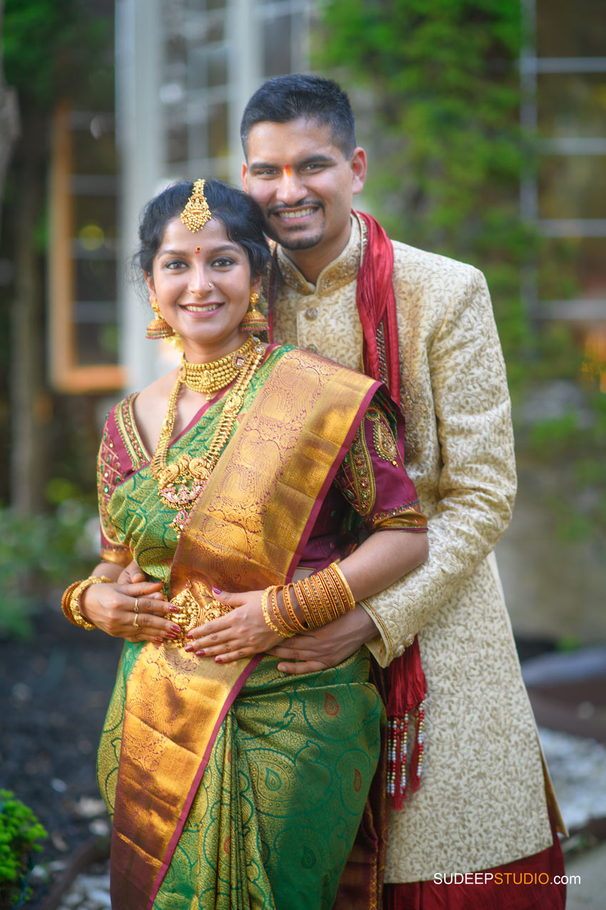 South Asian Indian Wedding Photography Bride Dress Bridal Jewelry Farmington Hills by SudeepStudio.com Ann Arbor Indian Wedding Photographer