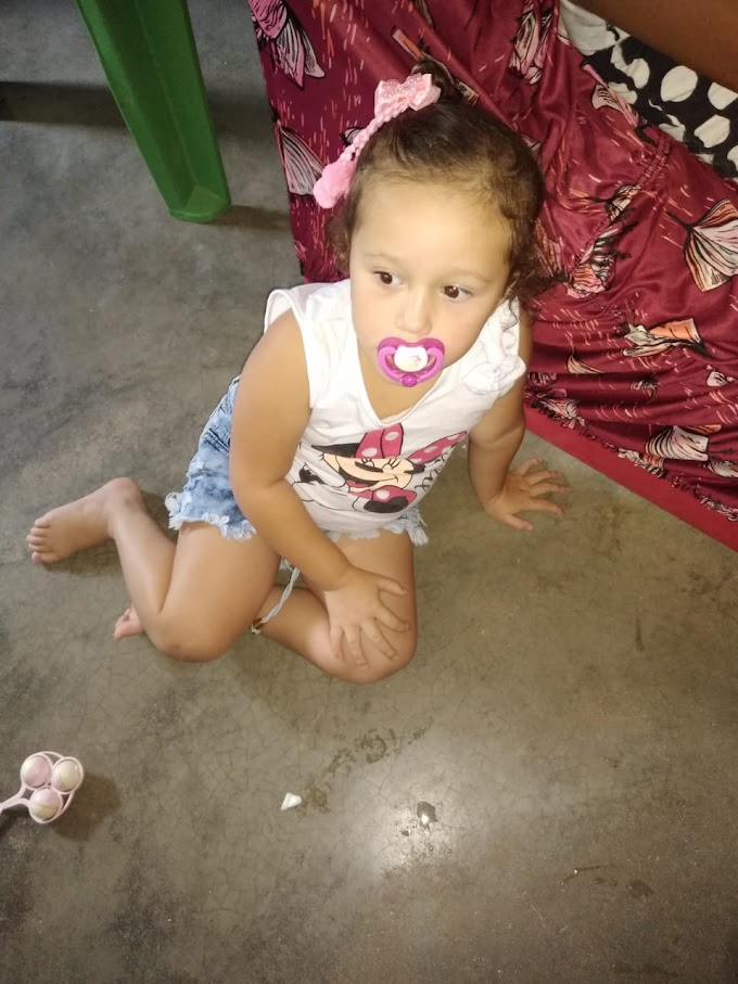 Izabela de apenas 3 anos precisa da sua ajuda para realizar cirurgia que salvará sua vida; saiba como ajudar!