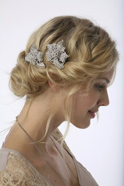 twisted braid for brides