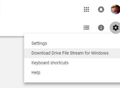 Học Thuật Máy Tính: Hướng dẫn tạo ổ đĩa Google Drive trực