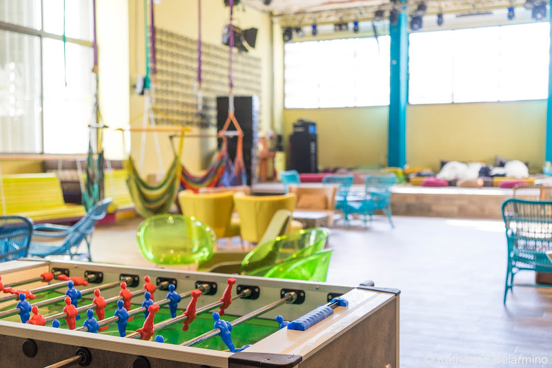 Abraham Hostels Tel Aviv Lounge Review