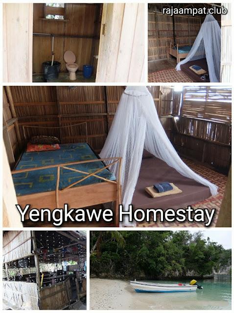 bedroom, toilet, dining room of Yengkawe homestay