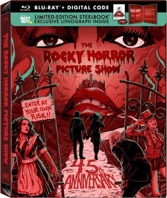 Rocky Horror Picture Show 45th Anniversary Limited-Edition SteelBook