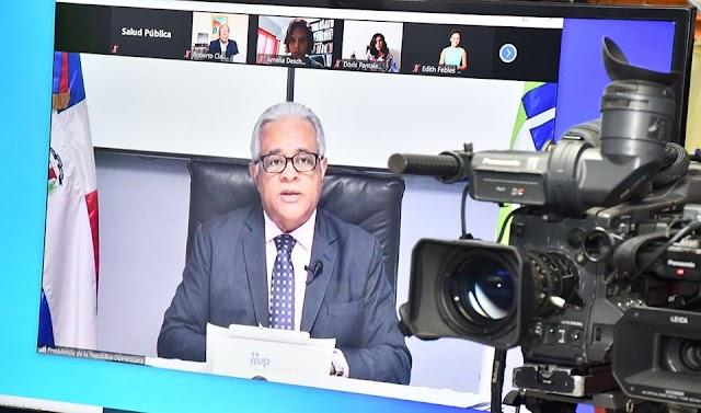 EN VIVO: Salud pública ofrece Boletín #71 actualiza cifras del coronavirus en RD
