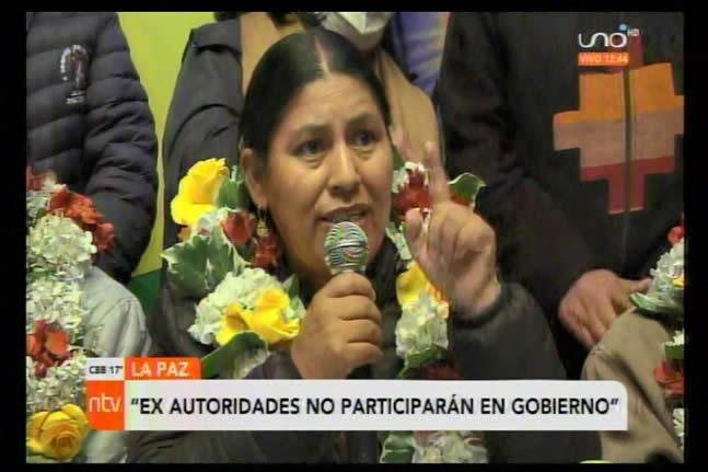 """Dirigenta del MAS afirma que Evo no es """"dueño"""" del IPSP y que fue un dirigente del pasado"""