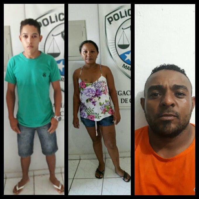 CAXIAS -  Delegacia Regional cumpre 3 mandados de prisão