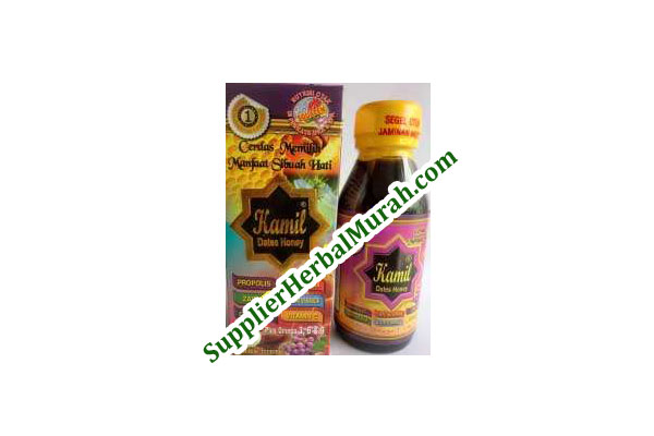 Madu Anak Kamil Dates Honey plus Squalene-Rasa Anggur