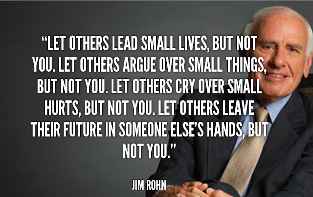 Jim Rohn Quoted
