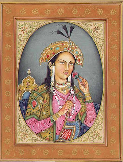 Mumtaz Mahal, inspired the Taj Mahal