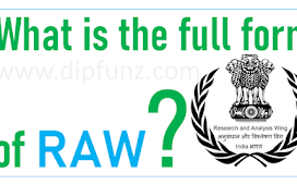 What is the full form of RAW?