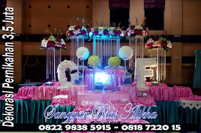 Gambar Dekorasi Pernikahan & rias Pengantin 3,5 Juta Jakarta