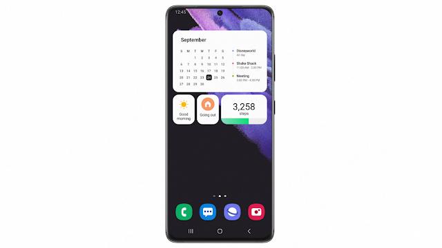أعلنت شركة سامسونج عن One UI 4 Beta لسلسلة هواتف Galaxy S21 الذكية