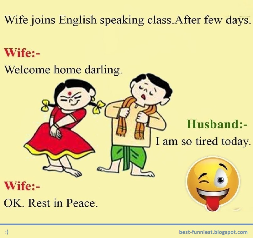 Adult Good Jokes Husband And Wife Great Best Funny Jokes