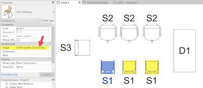 通过图像安排Revit内容;类型与实例插图(1)