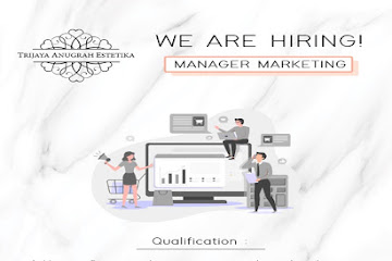 Lowongan Kerja Marketing Manager Trijaya Anugrah Estetika