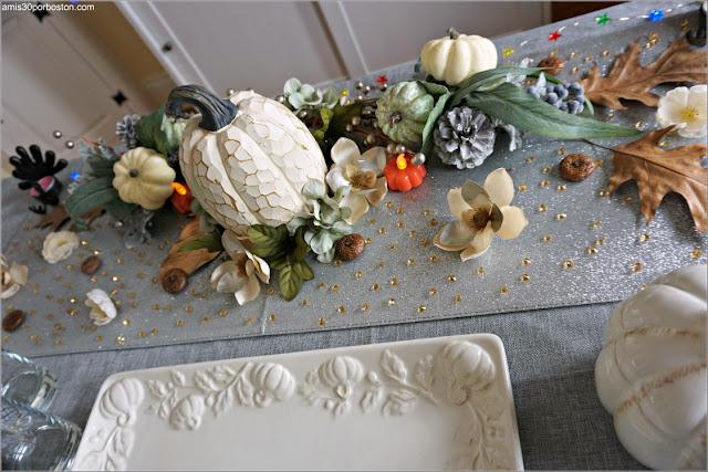 Decoración de la Cena de Acción de Gracias