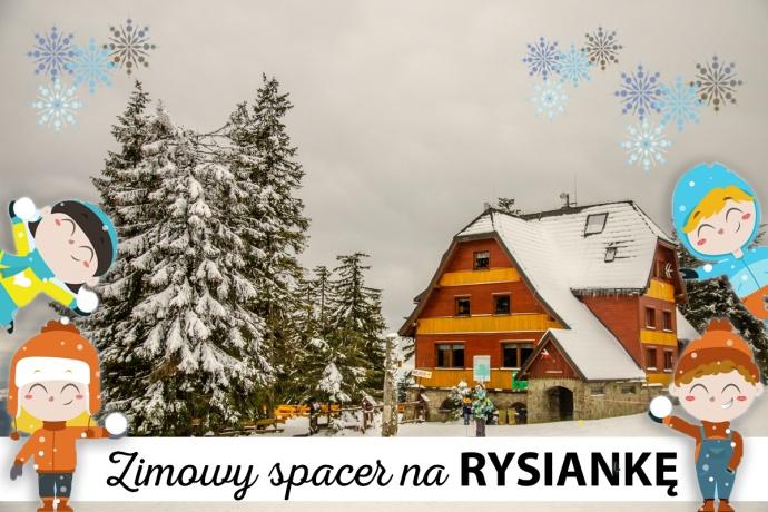 Wędrujemy... Hala Rysianka zimą
