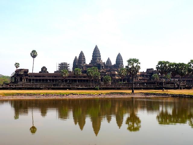 Angkor Wat temple near Siem Reap, Cambodia