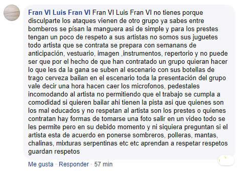 Comentarios a favor de Arturo Conde