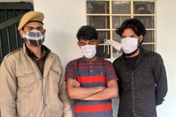 पुलिस के हत्थे चढ़े डम्पर चोरी करने वाले दो शातिर चोर, चकमा देकर भाग निकले थे जोधपुर