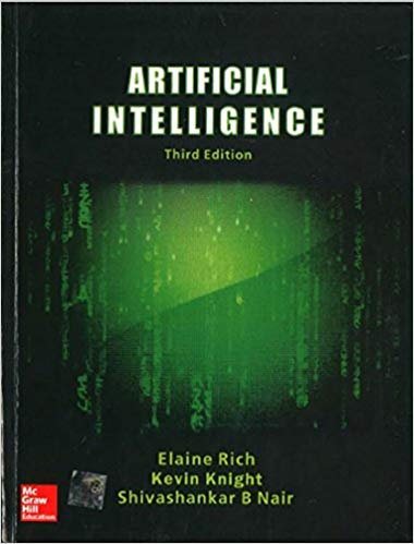 Artificial Intelligence book by Kelvin Knight, B Nair and Elaine Rich