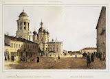 Church of Our Lady of Vladimir by Ferdinand Perrot - Architecture, Landscape Art Prints from Hermitage Museum