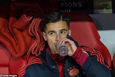 Bayern bất ngờ muốn giữ Coutinho