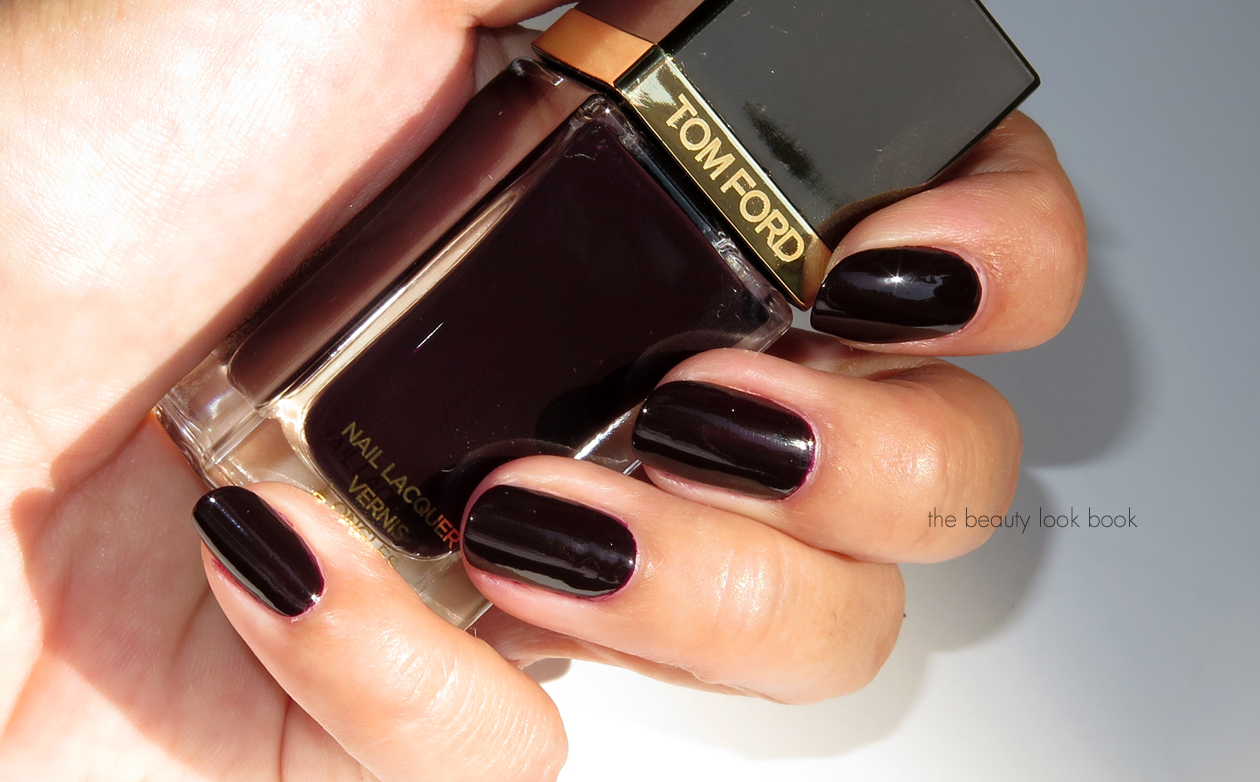 the beauty look book tom ford beauty black cherry nail. Black Bedroom Furniture Sets. Home Design Ideas