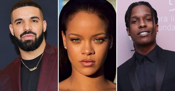 Rihanna  splits with Billionaire boyfriend Jameel- Drake and Asap may be next