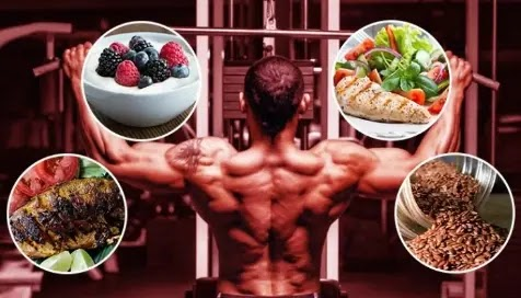 What should I eat before going to bed to build muscle?