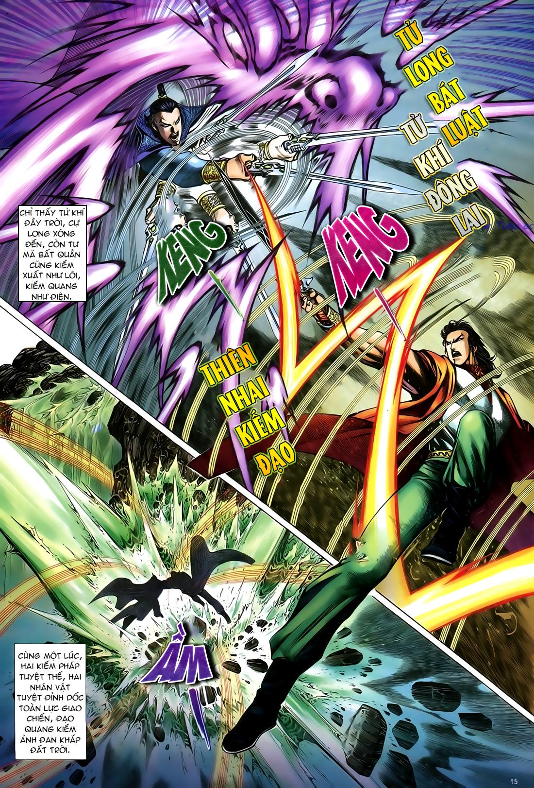 Anh hùng vô lệ Chap 24 trang 16