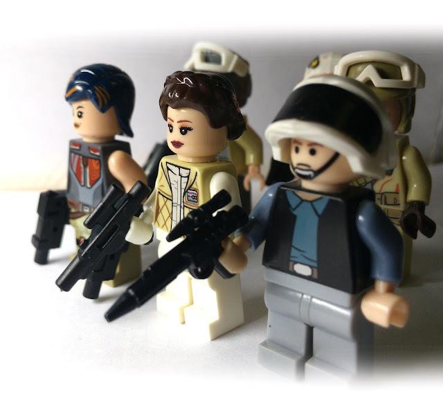 Принцесса Лея, повстанцы, лего, Звездные войны, Сабин Врен