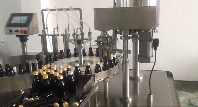 بوتلون کی فلنگ یا بھرنے والی مشین