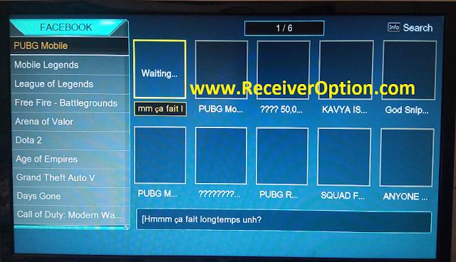 SENATOR 999 1507G 8MB NEW SOFTWARE WITH ECAST & FACEBOOK LIVE OPTION