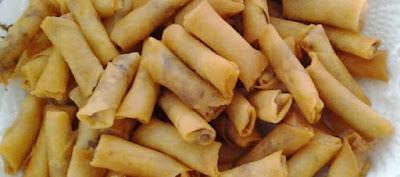 Resep  Kue Kering Sumpia Udang Rebon