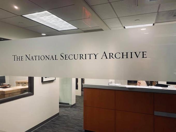 Importante convenio entre el Archivo Nacional de Seguridad de EEUU y la CPM