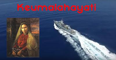 Sejarah gambar Keumalahayati Wanita Pertama Berpangkat Laksamana Sampai KRI Malahayati