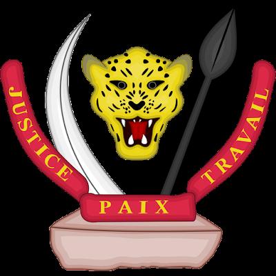 Coat of arms - Flags - Emblem - Logo Gambar Lambang, Simbol, Bendera Negara RD Kongo