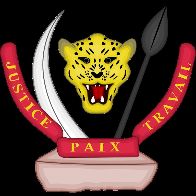 Logo Gambar Lambang Simbol Negara RD Kongo PNG JPG ukuran 800 px