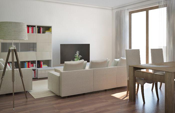 Arredamento e dintorni progetto zona giorno in stile classico for Progetto zona giorno