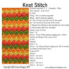 Knot Knitting Stitch