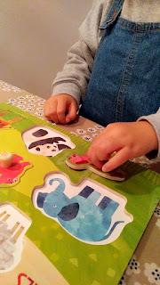 1歳半から楽しめる♪ 可愛い動物の木製パズル