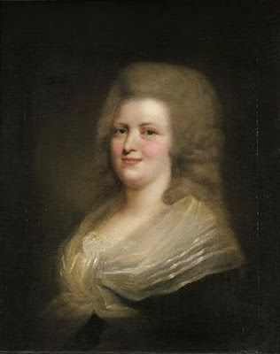 Marie Clotilde of France by Johann Julius Heinsius, 1780