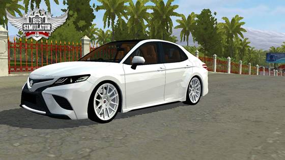 Mod Mobil BUSSID Toyota Camry XSE Full Anim