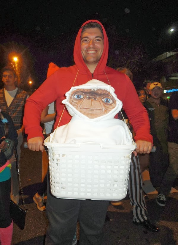 ET costume West Hollywood Carnaval  sc 1 st  Jason in Hollywood & West Hollywood Halloween costumes inspired by the movies TV and ...