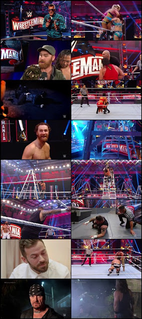 WWE WrestleMania 36 PPV Part 1 Special Episode 5th April 2020 Download 480p HD || 7starhd