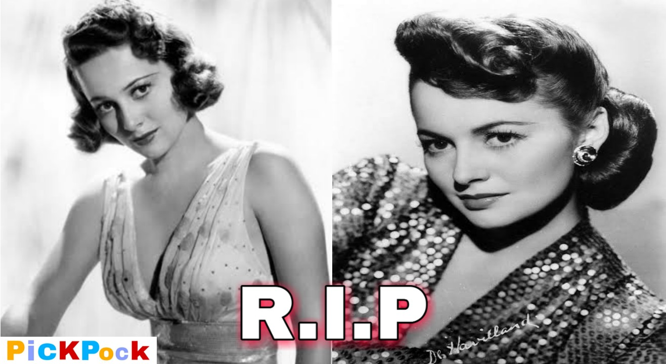 Olivia de Havilland, Tow Time Oscar Winner Hollywood Star Dies At Age 104, Pickpock